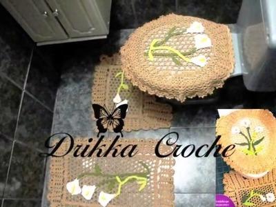 Crochet Bathroom Set