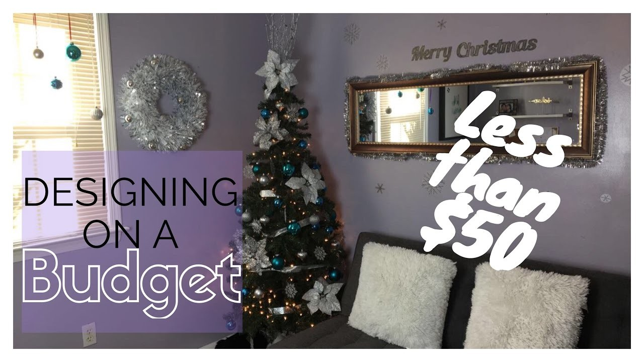 decorating for christmas on a budget vlogmas day 2 my crafts and diy