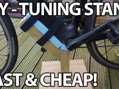 DIY Bike Tuning Stand