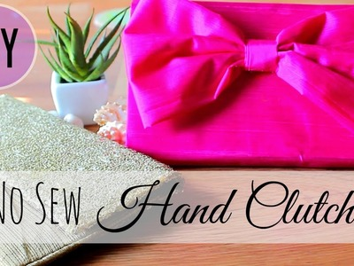 DIY:Hand Clutch. no sew clutch