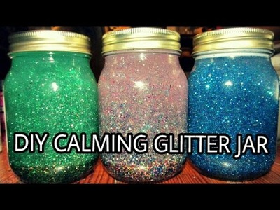 DIY||How to do fairy shinning glitter jar❤️❤️||gift ideas!