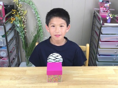 DIY - How to make Explosion Box - step by step tutorial
