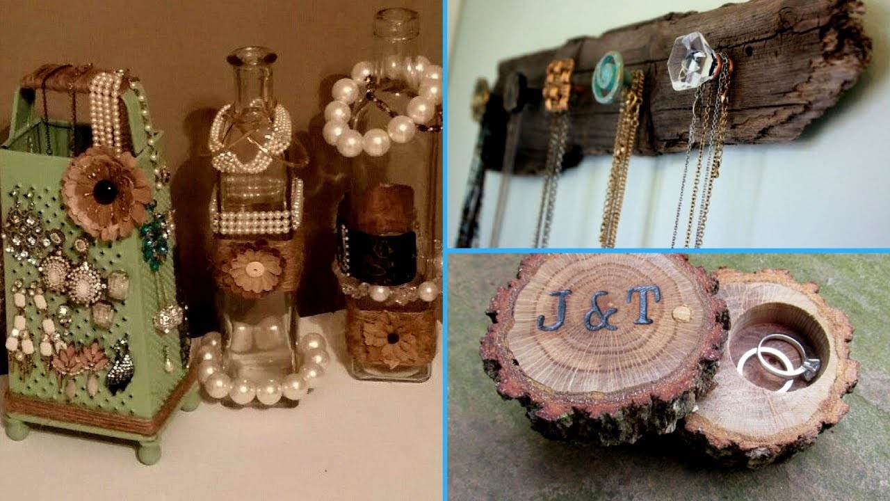 ✴DIY | Jewelry Organizer. 40 creative Ideas for jewelry holder (Cute and Easy!!)✴