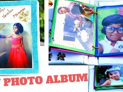 DIY Summer Vacation Photo Album || School mini Album Project ||  DIYCrafts #19