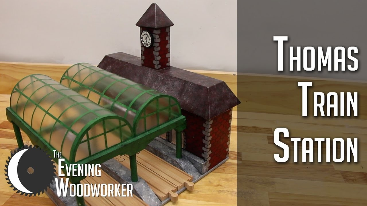 DIY Train Station from Thomas the Tank Engine