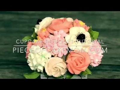 Easy diy cupcake bouquet tutorial