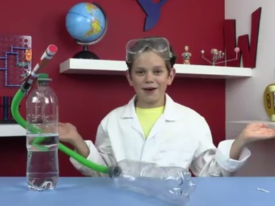 How To Make a Bottle Rocket Tornado! Experiments for Children | Wildbrain Toy Club - Fun For Kids