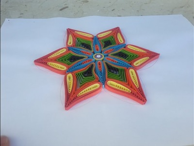 how to make quilling paper strips at home