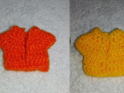How to make crochet choli of Bal Gopal. Ladoo Gopal. Kanha Ji's dress