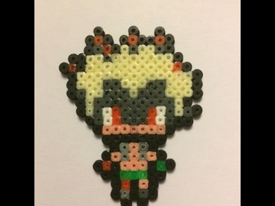 Junkrat - Overwatch Hama Beads mini | Speed Art