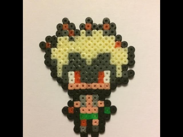 Junkrat - Overwatch Hama Beads mini   Speed Art