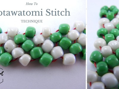 ???? Native American Stitch |  Potawatomi Bracelet