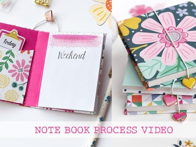 Notes book process video