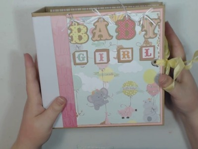 "Photo Play Paper About A Little Boy & About A Little Girl 8"" x 8"" Albums"