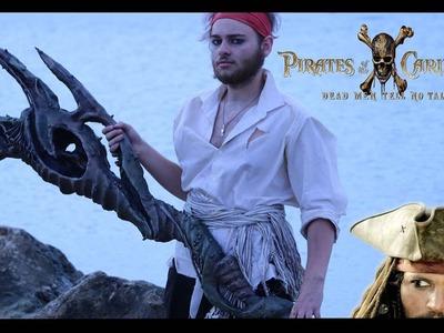 Poseidon's Trident - DIY Prop (Pirates Of The Caribbean Dead Men Tell No Tales)