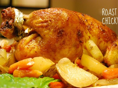 Simple and Easy Roast Chicken Recipe
