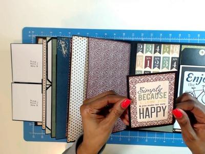 Travel Album using Kathy King My Design Tutorial