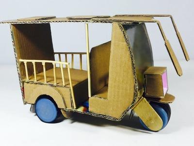 WOW! Amazing Electric Rickshaw Battery - How to Make a Tuk Tuk