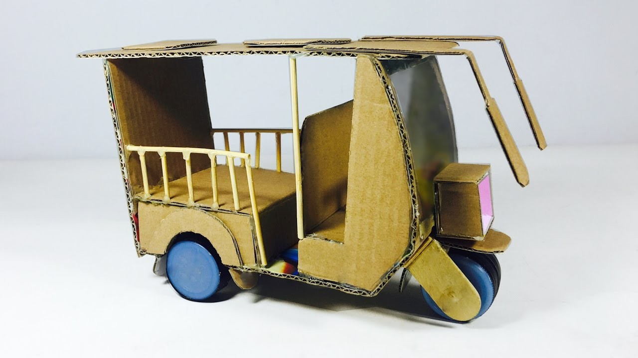 WOW! Amazing Electric Rickshaw Battery - How to Make a Tuk Tuk