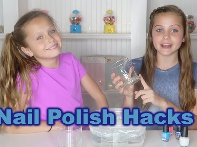 10 Crafting Life Hacks | Nail Polish Hack