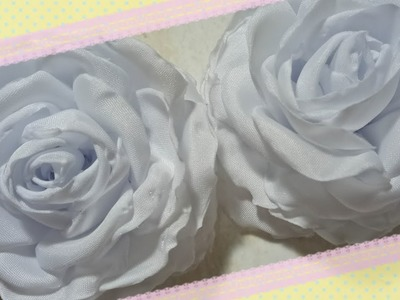 59) Tutorial Bunga Kriwil | How to make white peony