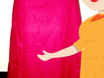 6 Panelled Petticoat With Frill Cutting And Stitching | English - Tailoring With Usha