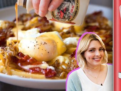 Breakfast Poutine Recipe ft. Estée Lalonde | FridgeCam