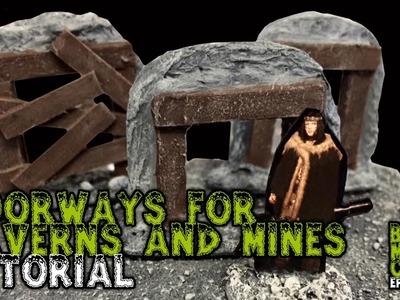 Cave, Cavern, or Mine Doorways For D&D Tutorial (Episode 003)