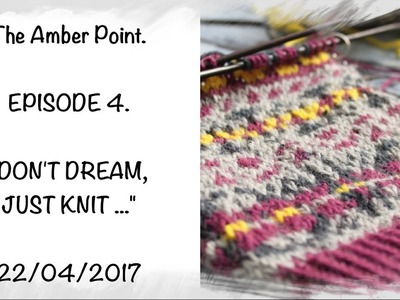 Knitting, The Knit Stitch, BEE STITCH, Episode 2: the mint color and a cup of...