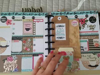 Flip through my Happy Planner