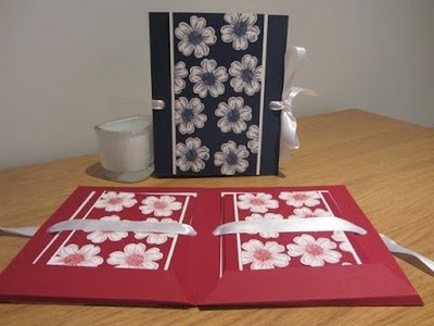 Flower Shop Card Gift Set Tutorial with Stampin' Up UK Products