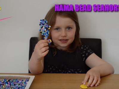 Hama Beads Crafts | DIY Seahorse | Amelia's Crafty Corner