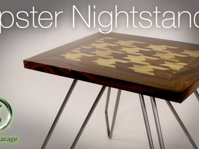 Houndstooth Inlay Night Stand 884180bea