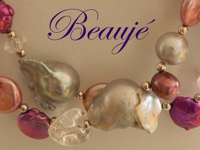 How to care for pearls, type of pearls, freshwater pearls, Beauje