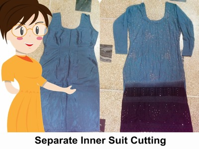 How To Cut Separate Inner Suit - Tailoring With Usha