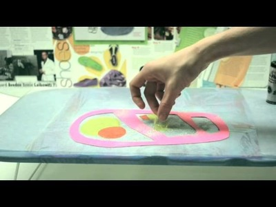 How To Iron Cellophane for Butterfly Wings with Kiki Magazine