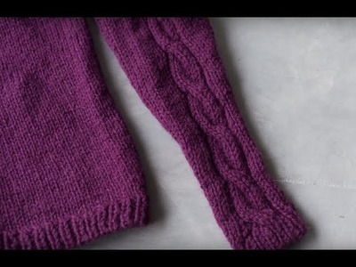 How to Knit Raglan Sleeves