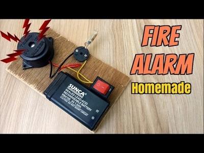 How to Make a Fire Alarm System - Homemade