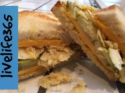 How to. Make a Killer Potato Chip, Pickle and Cheese Sandwich