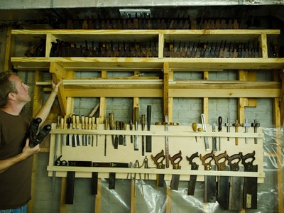 How to Make a Woodworking Hand Tool Storage Board