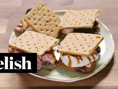 How To Make Blackberry S'Mores | Delish