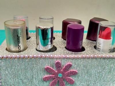 How to make lipstick oraganiser