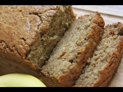 How to Make Moist Banana Bread ~ The Bomb!