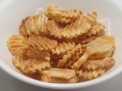 HOW TO MAKE POTATO CHIPS AT HOME ? (BY CRAZY HACKER)