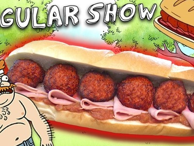 How to Make the DEATH SANDWICH from The Regular Show! Feast of Fiction S6 Ep5