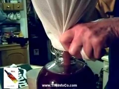 How to make wine - Elderberry and Blackberry by TheInfoCo.com