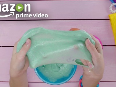 How To Make Your Own Glitter Slime | Amazon Kids