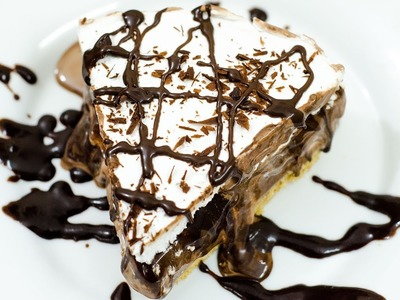 ICE CREAM CAKE I No-Bake & Eggless