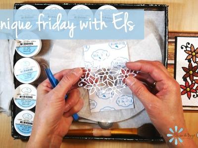 Imprint Technique   Technique Friday with Els