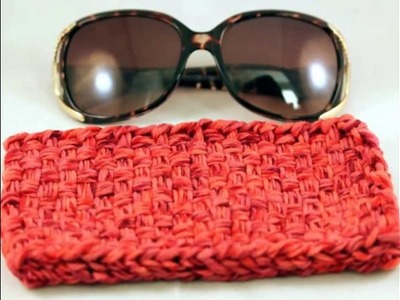 Loom Woven Eyeglass and Sunglass Case Collection